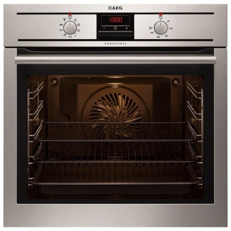 AEG H594xW594xD567 Single Electric Oven - Stainless Steel primary image