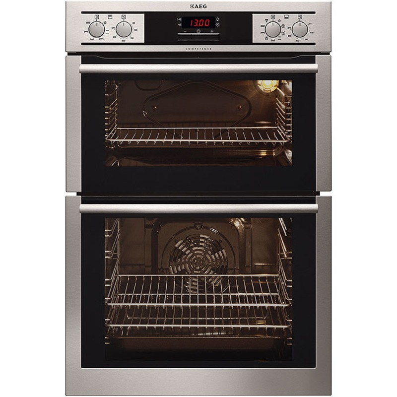 AEG H888xW594xD548 Built In Double Electric Oven - Stainless Steel primary image