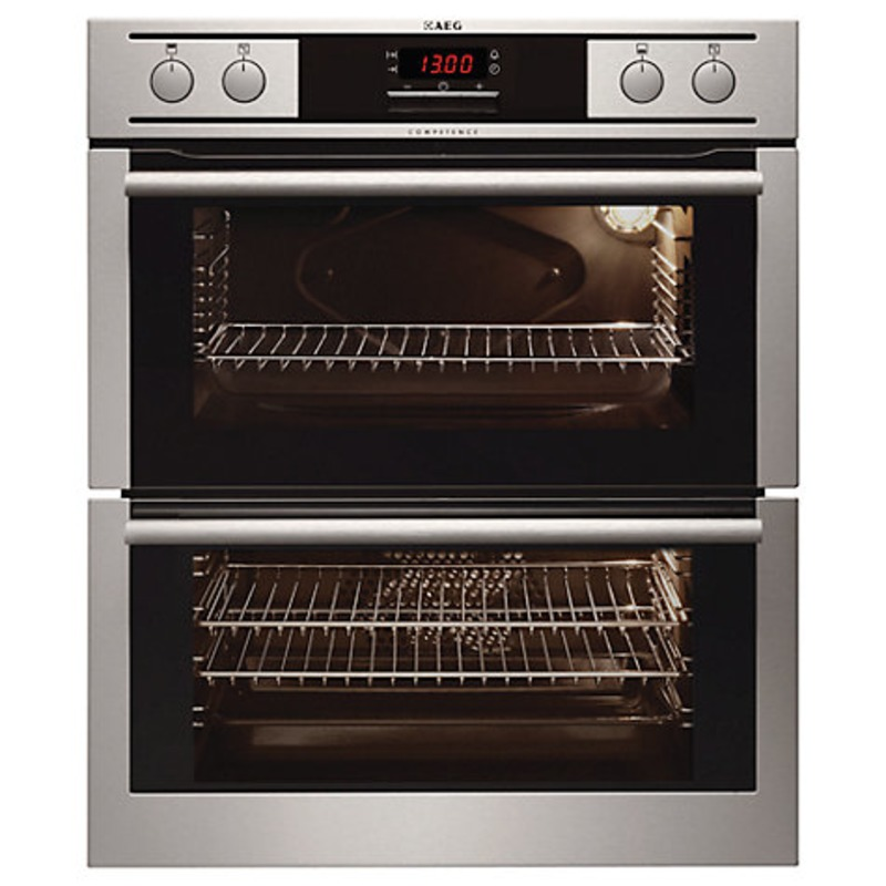 AEG H715xW594xD548 Built Under Double Electric Oven - Stainless Steel primary image
