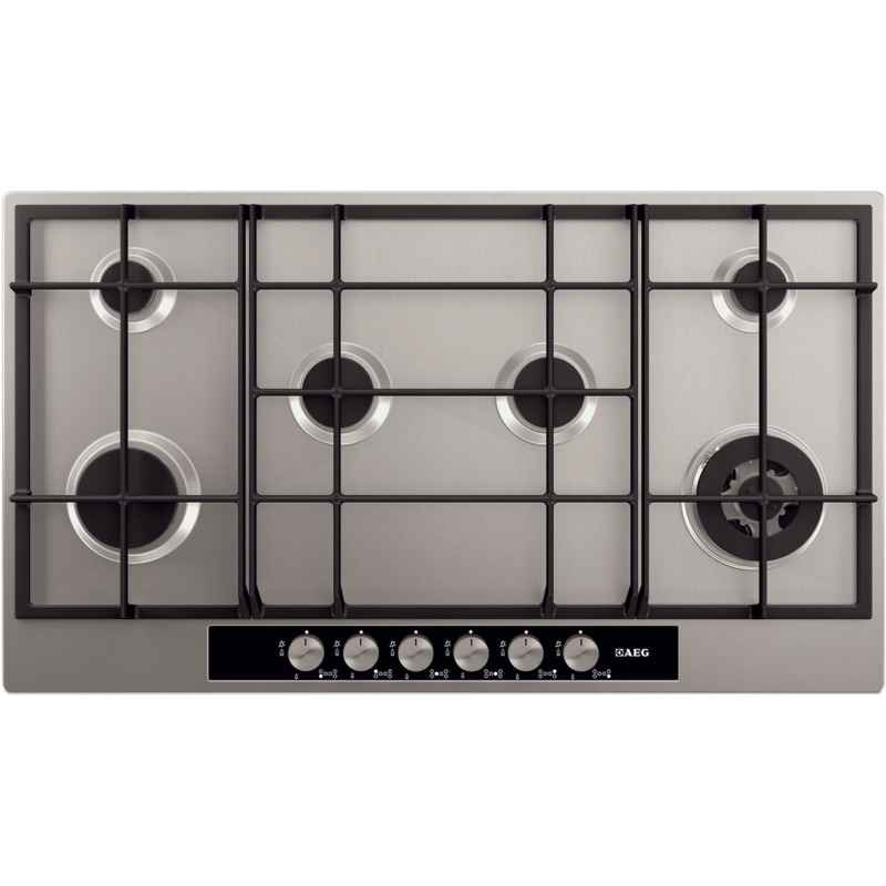 AEG H80xW894xD510 Gas On Glass 6 Burner Hob primary image