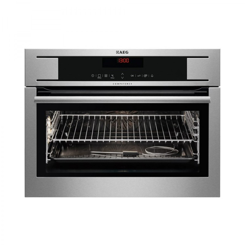 AEG H455xW594xD567 Compact Electric Oven - Stainless Steel primary image