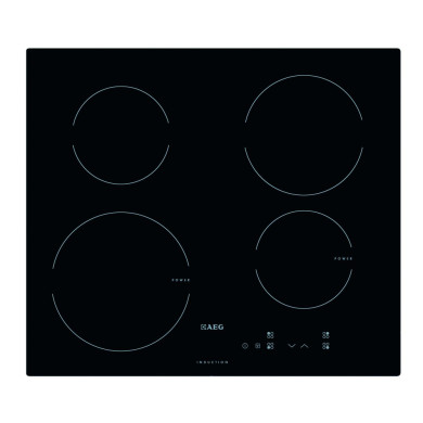AEG H60xW590xD520 Induction 4 Zone Hob