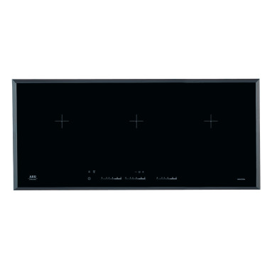 AEG H50xW910xD410 Induction 3 Zone Hob