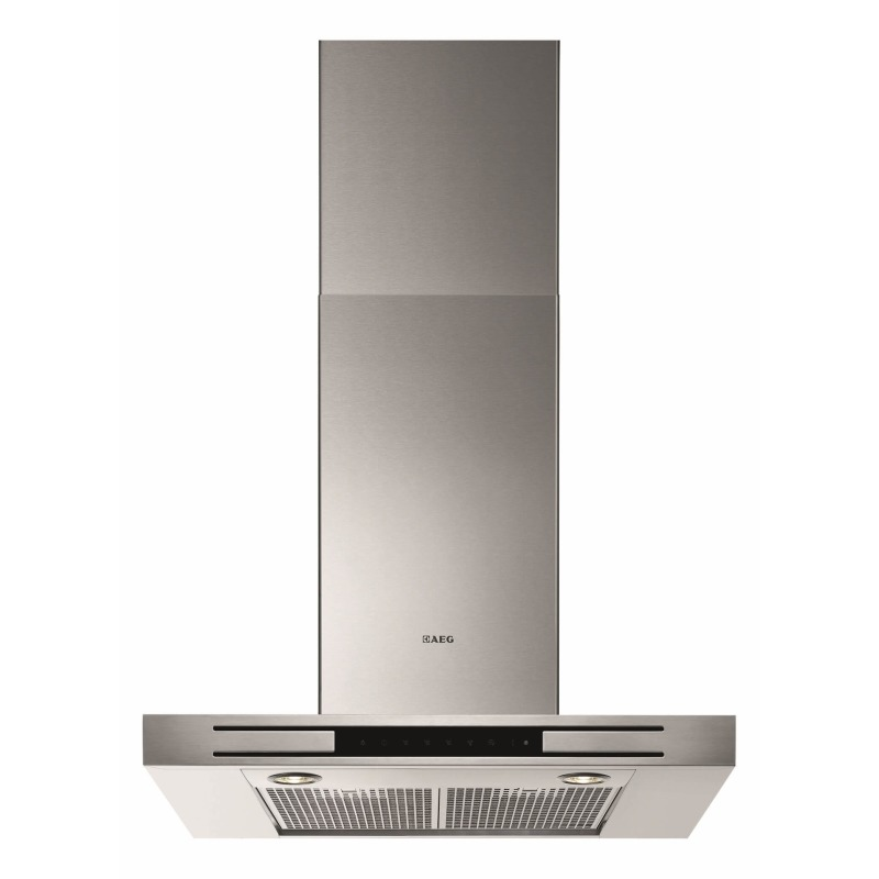 AEG H60xW698xD470 Chimney Box Hood - Stainless Steel primary image