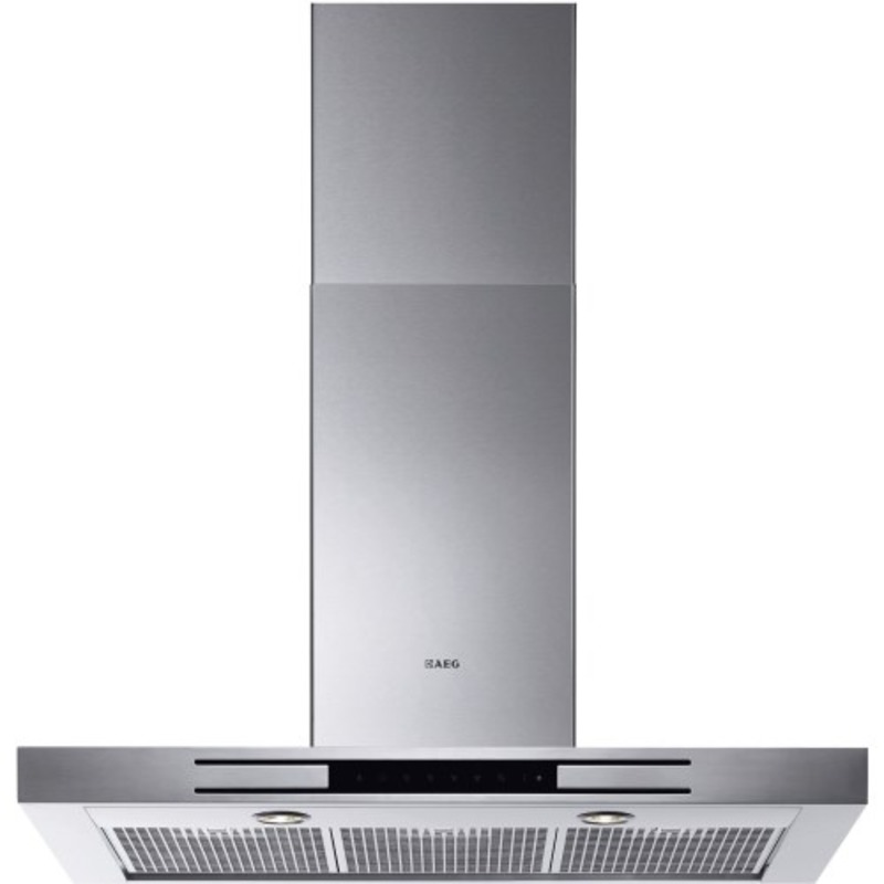 AEG H60xW898xD470 Chimney Box Hood - Stainless Steel primary image