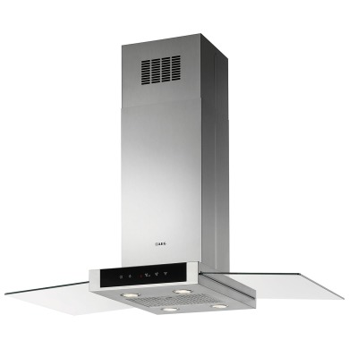 AEG H60xW998xD600 Island Hood - Stainless Steel & Glass