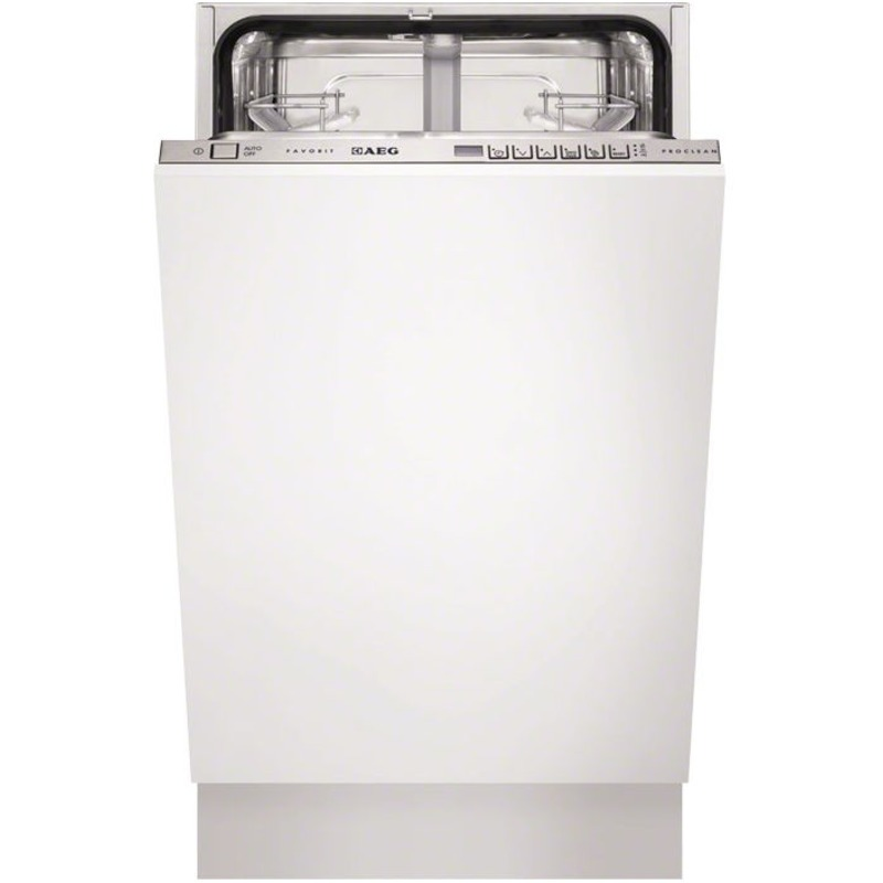 AEG H818xW446xD550 Integrated Slimline Dishwasher primary image