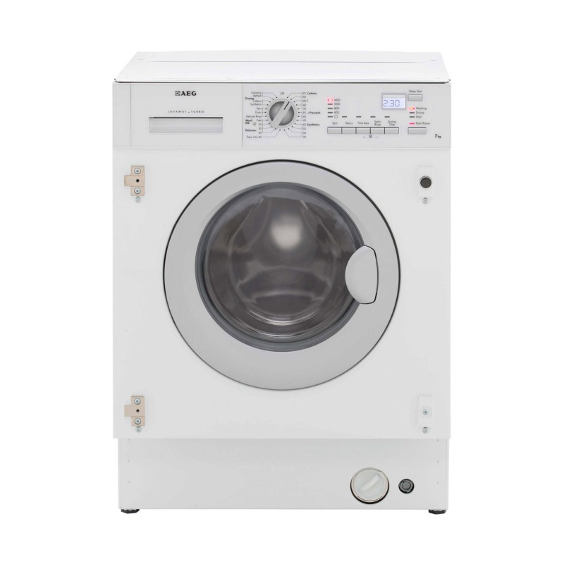 AEG H820xW600xD555 Fully Integrated Washer Dryer (7kg) - L61470WDBI primary image