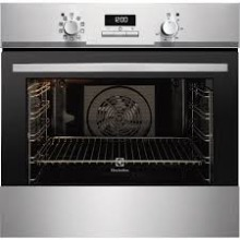 Electrolux H594xW594xD568 Single Multi Function Oven - Stainless Steel