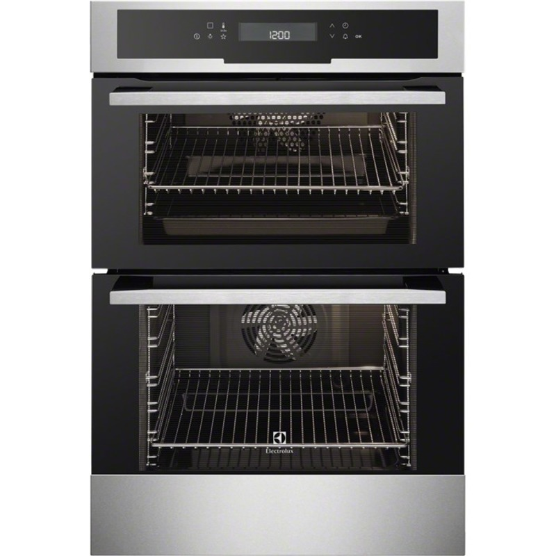 Electrolux H888xW594xD548 Built-In Multi Function Double Oven - Stainless Steel primary image