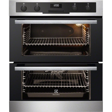 Electrolux H715xW594xD548 Built-Under Electric Double Oven - Stainless Steel