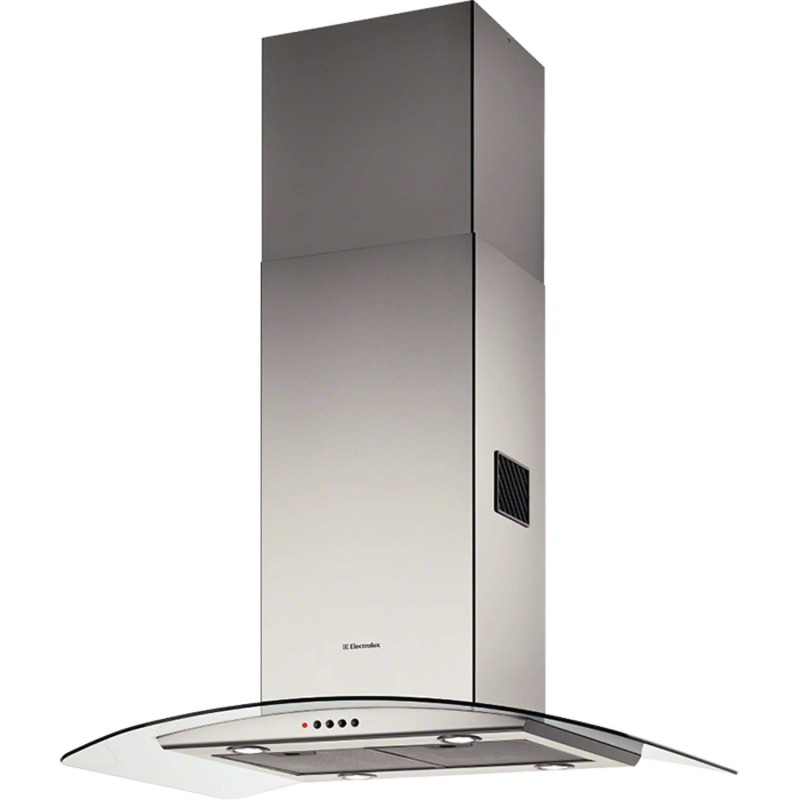 Electrolux H70xW898xD650 Curved Glass Island Hood - Stainless Steel primary image