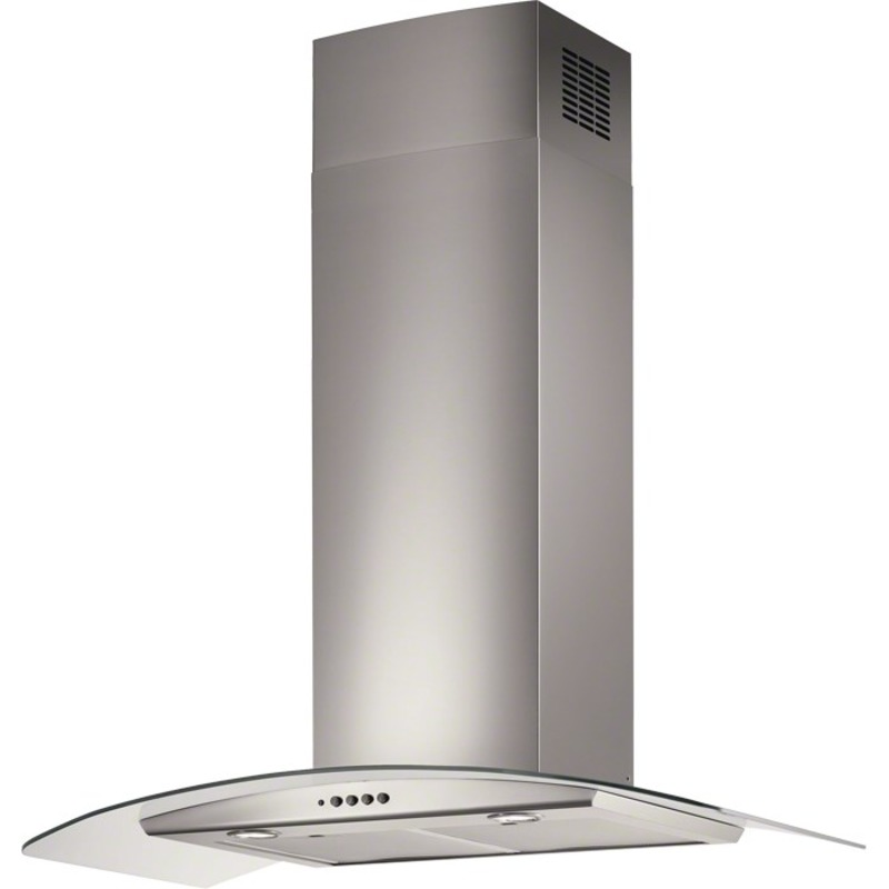 Electrolux H70xW898xD490 Curved Glass Chimney Hood - Stainless Steel primary image