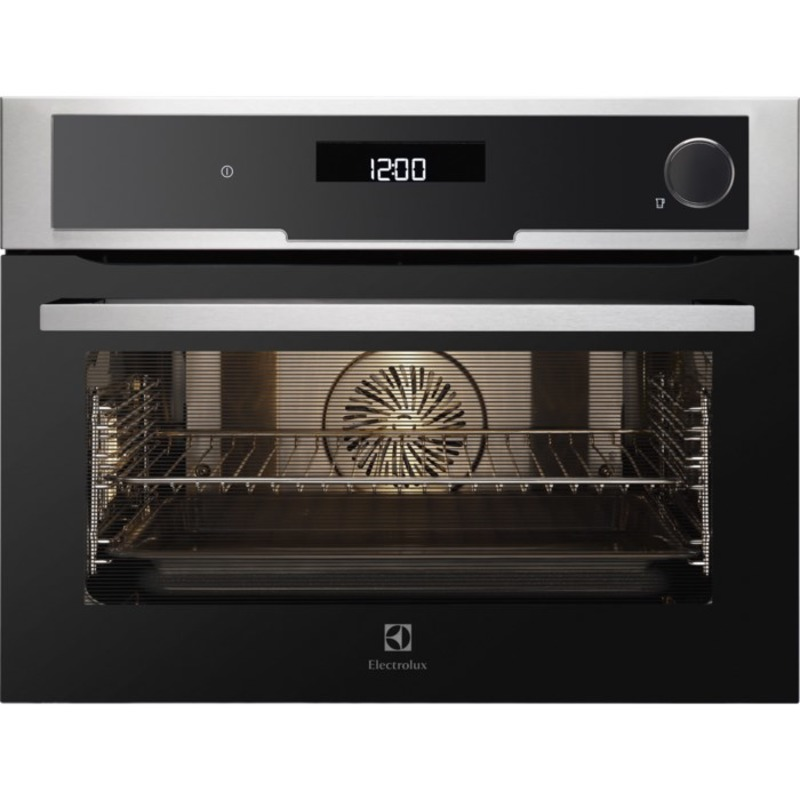 Electrolux H455xW594xD567 Compact Combination Steam Oven - Stainless Steel - EVY9841AAX primary image