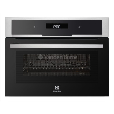 Electrolux H455xW594xD567 Microwave with Grill - Stainless Steel - EVY6800AAX