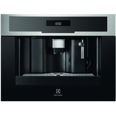 Electrolux H455xW594xD567 Compact Coffee Machine - Stainless Steel