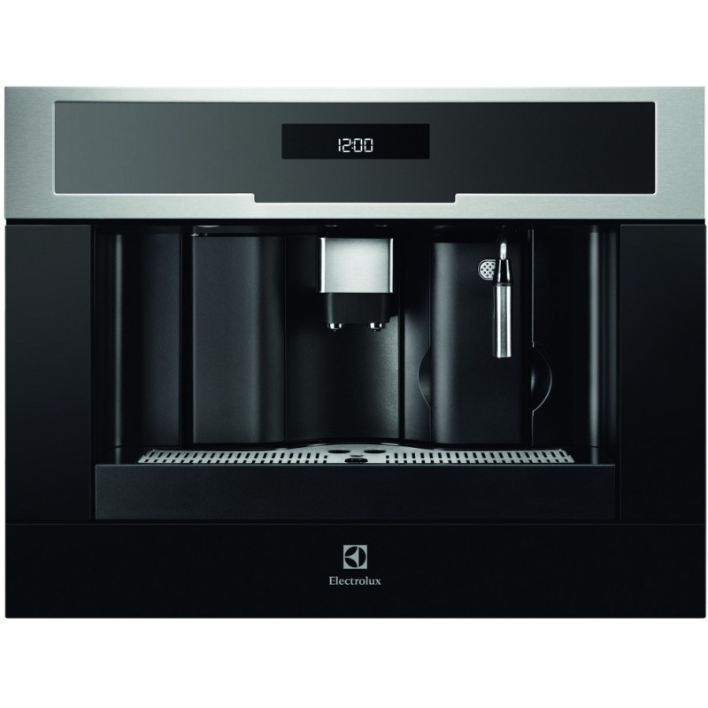 Electrolux H455xW594xD567 Compact Coffee Machine - Stainless Steel primary image