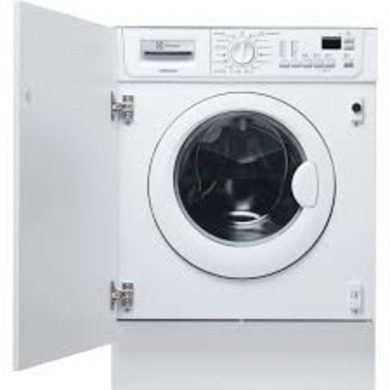 Electrolux H820xW596xD544 Integrated Condenser Washer Dryer. (7kg)
