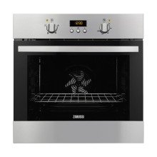 Zanussi H654xW635xD670 Single Multi Funtion Oven - Stainless Steel