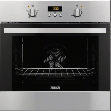 Zanussi H589xW594xD568 Single Multi Funtion Oven - Stainless Steel