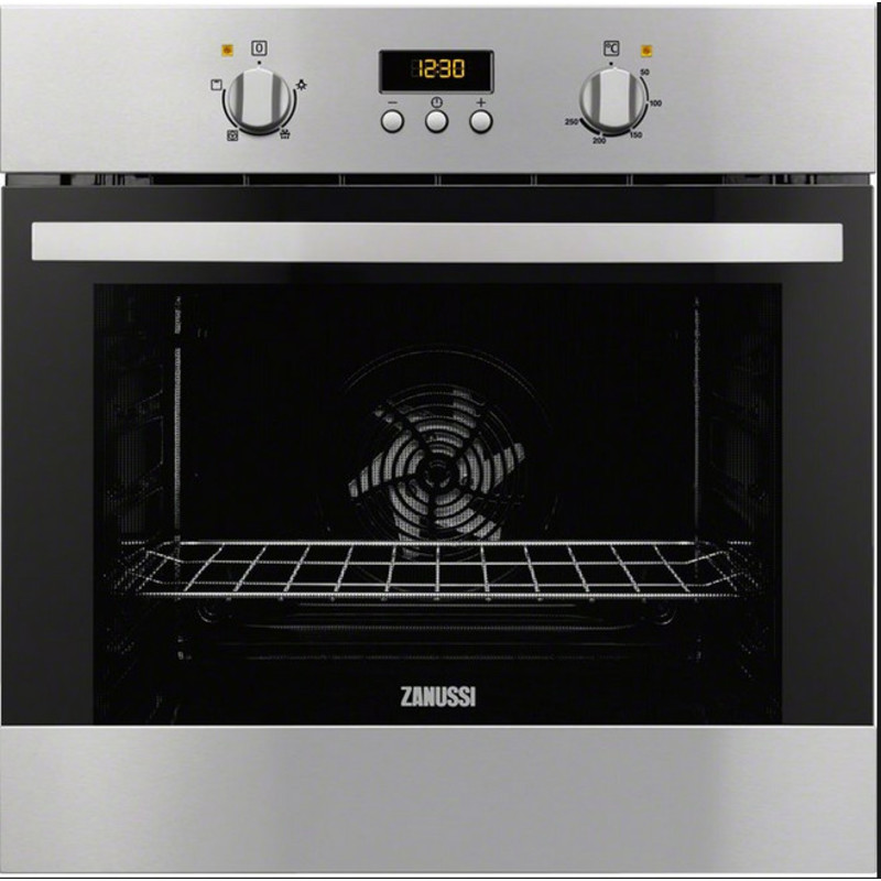 Zanussi H589xW594xD568 Single Multi Funtion Oven - Stainless Steel primary image