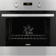 Zanussi H589xW594xD568 Single Electric Oven - Stainless Steel