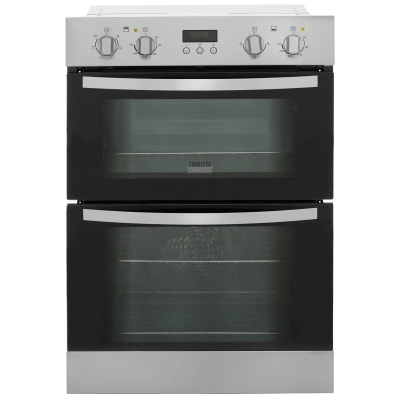 Zanussi H888xW594xD548 Built In Multi Function Double Oven - Stainless Steel - ZOD35511XK primary image