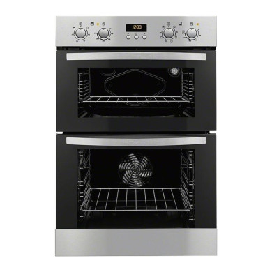 Zanussi H888xW594xD548 Built In Electric Double Oven - Stainless Steel - ZOD35712XK