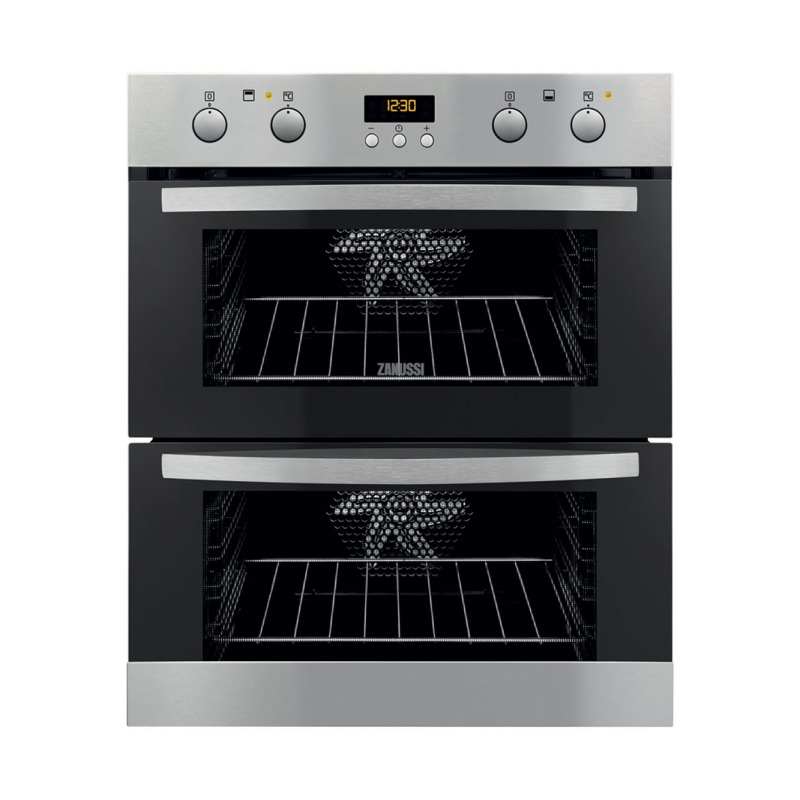 Zanussi H715xW594xD548 Built Under Electric Double Oven - Stainless Steel primary image