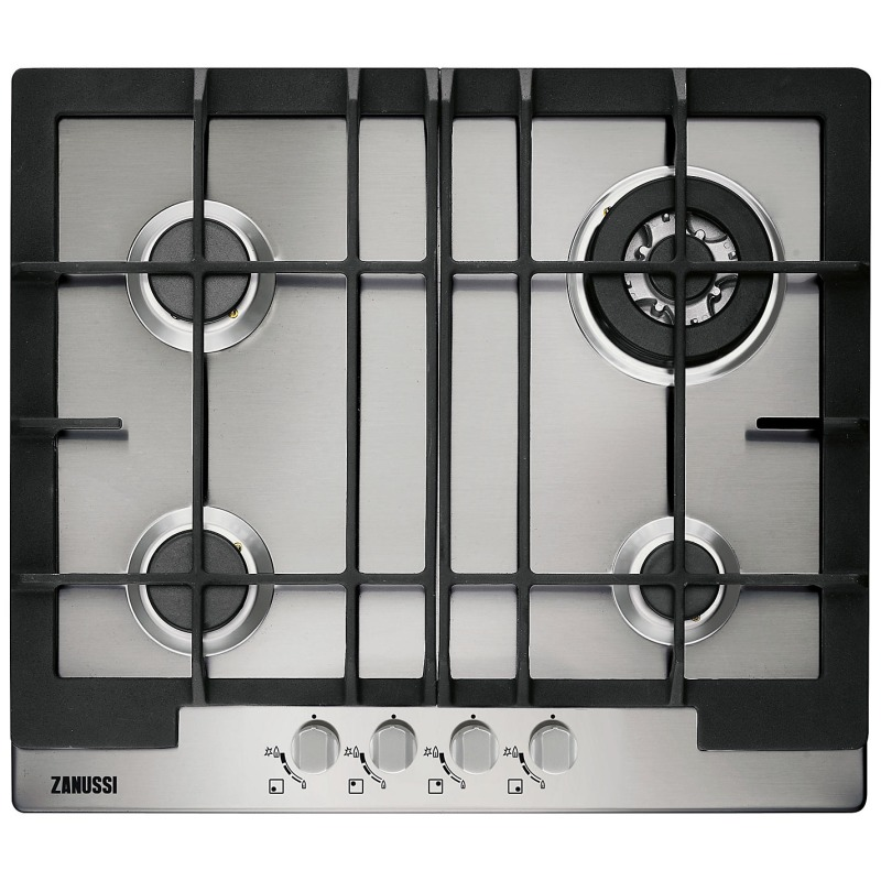 Zanussi H30xW594xD510 Gas 4 Burner Hob - Stainless Steel primary image