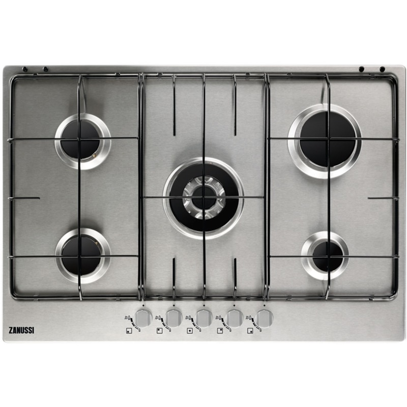 Zanussi H30xW744xD510 Gas 5 Burner Hob - Stainless Steel primary image