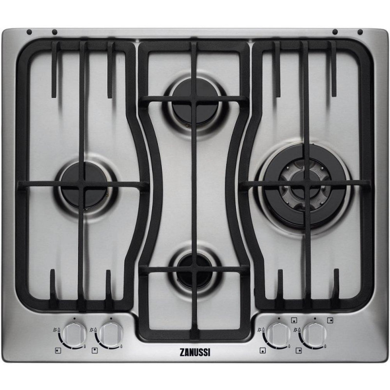 Zanussi H35xW594xD510 Gas 4 Burner Hob - Stainless Steel primary image