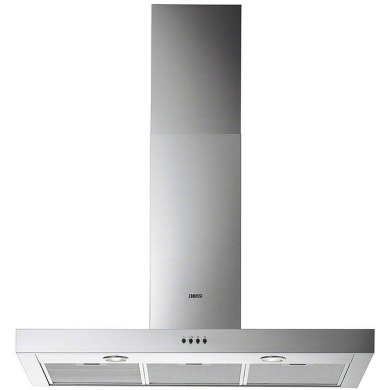 Zanussi H622xW898xD450 Chimney Hood - Stainless Steel
