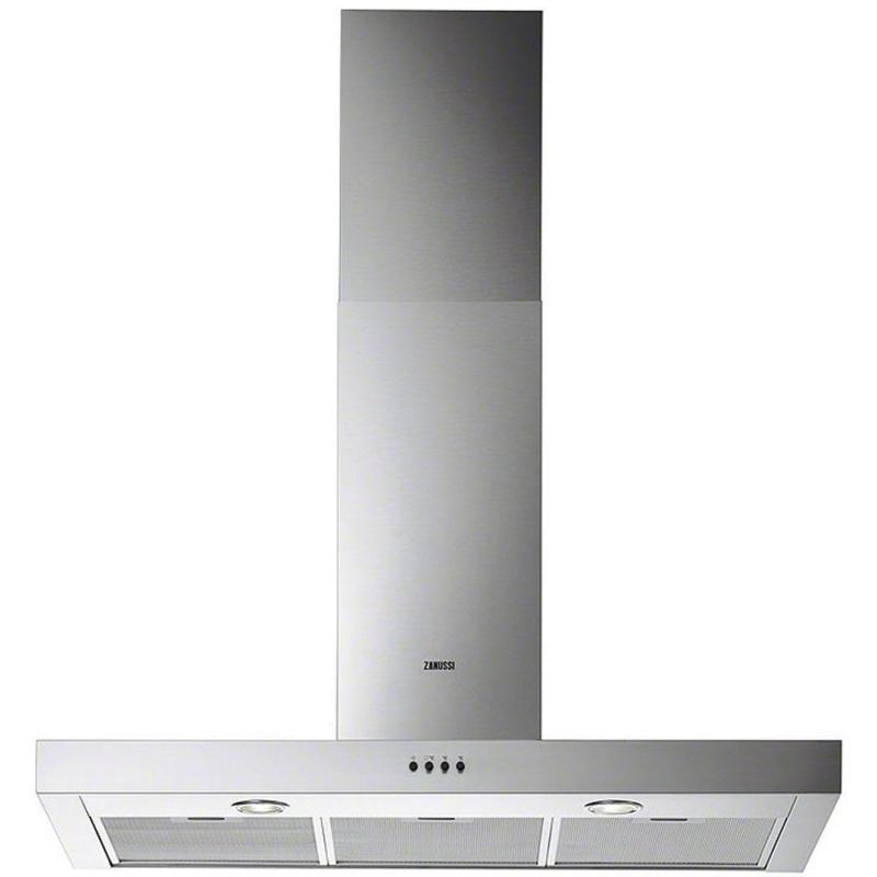 Zanussi H622xW898xD450 Chimney Hood - Stainless Steel primary image