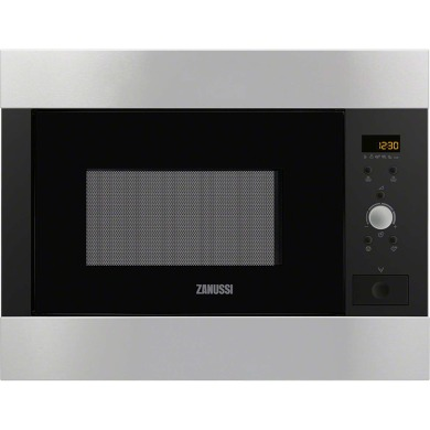 Zanussi H459xW594xD437 26L Built In Microwave - Stainless Steel
