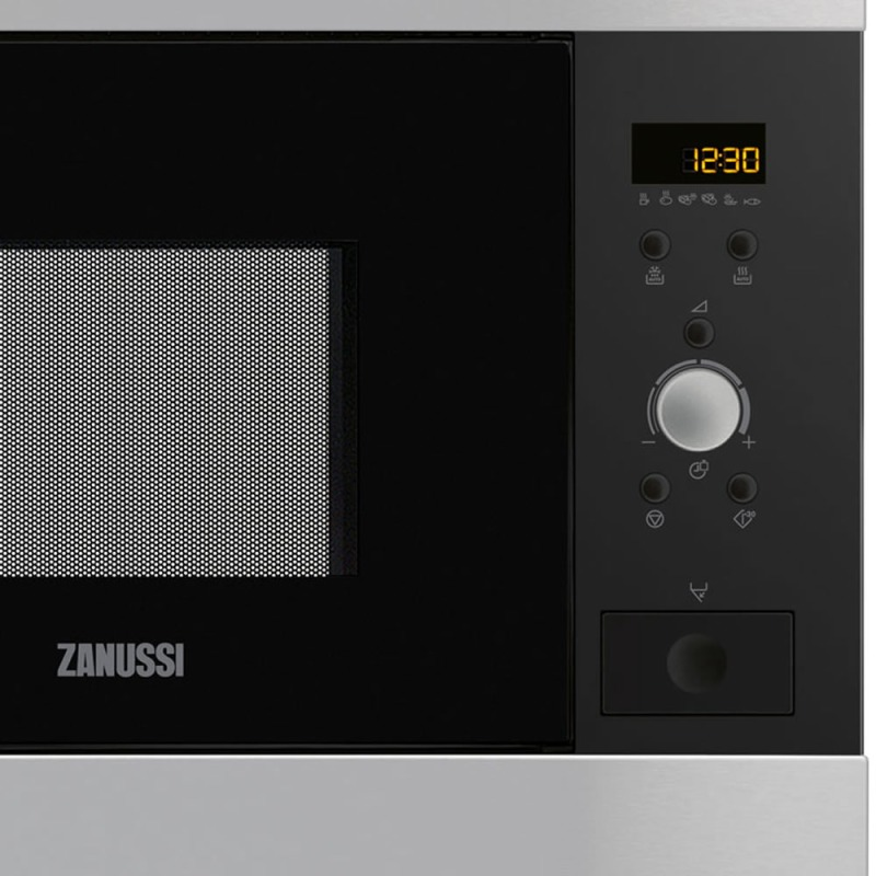 Zanussi H459xW594xD437 26L Built In Microwave - Stainless Steel additional image 1