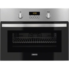 Zanussi H455xW594xD567 43L Combi Microwave with Grill - Stainless Steel