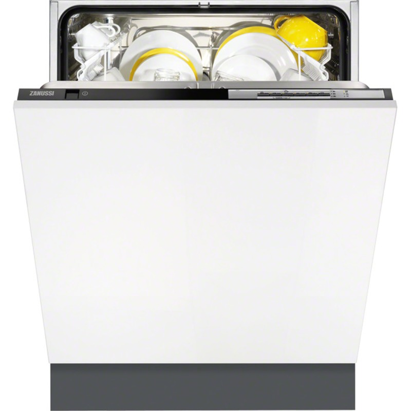 Zanussi H818xW446xD550 Fully Integrated Slim-line Dishwasher - ZDV12002FA primary image