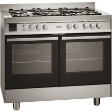 Electrolux H920xW1000xD600 Dual Fuel Range Cooker - Stainless Steel