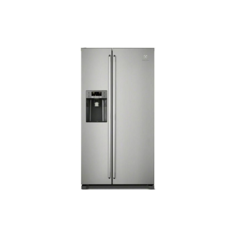 Electrolux H1840xW970xD767 Side by Side Fridge Freezer With Ice And Water - Stainless - EAL6141WOX primary image