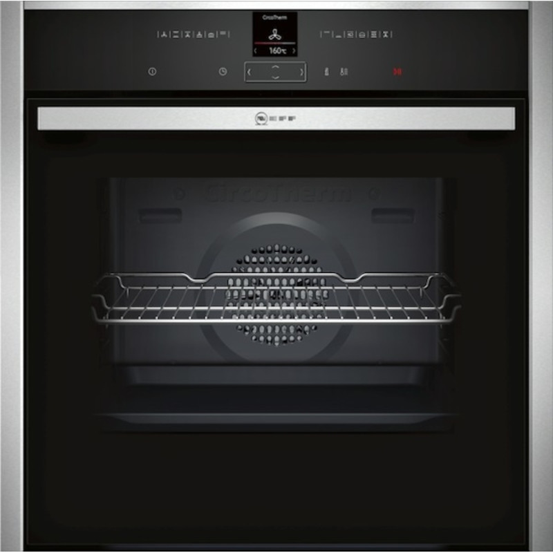 Neff H595xW596xD548 Single Multifunction Oven - Stainless Steel primary image