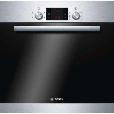 Bosch H595xW595xD548 Single Electric Oven - Stainless Steel