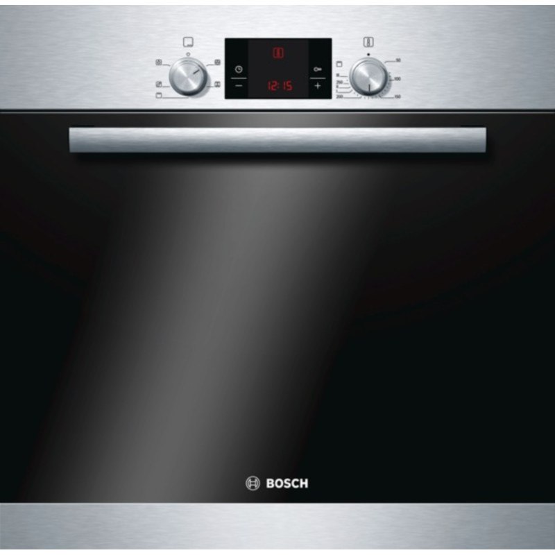 Bosch H595xW595xD548 Single Electric Oven - Stainless Steel primary image