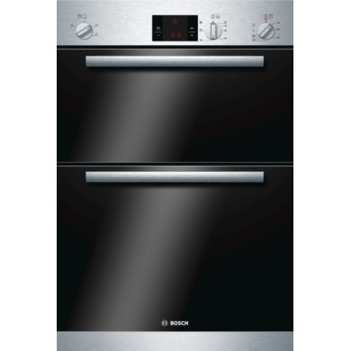 Bosch H888xW595xD550 Electric Built-In Double Oven - Stainless Steel