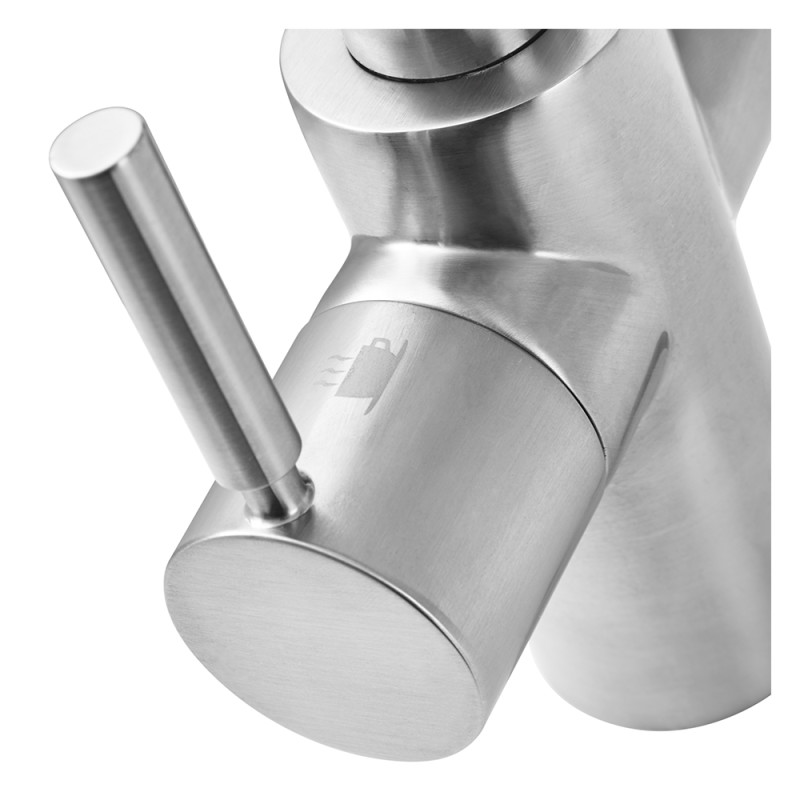 Insinkerator 3N1 Hot Water Tap Brushed Steel additional image 2