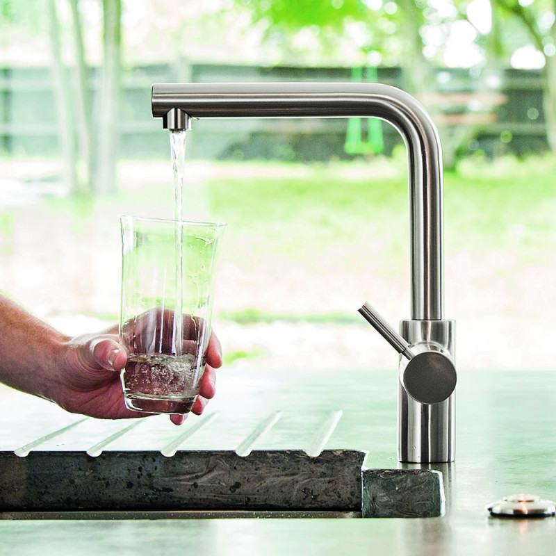 Insinkerator 3N1 Hot Water Tap Brushed Steel additional image 9
