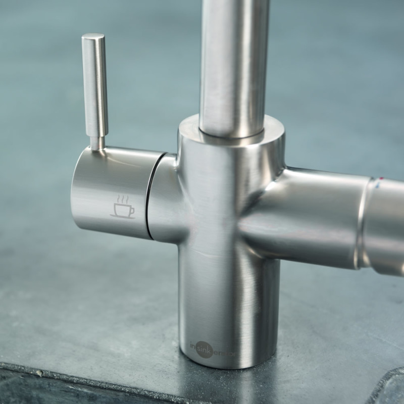 Insinkerator 3N1 Hot Water Tap Brushed Steel additional image 11