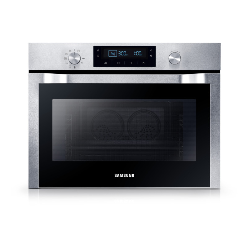 Samsung H454xW595xD570 Compact Combi Microwave Oven - Stainless Steel primary image