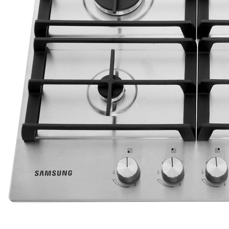 Samsung H50xW600xD510 4 Burner Gas Hob - Stainless Steel additional image 1