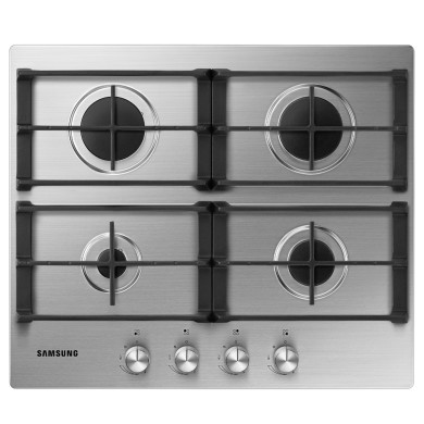 Samsung H50xW600xD510 4 Burner Gas Hob - Stainless Steel